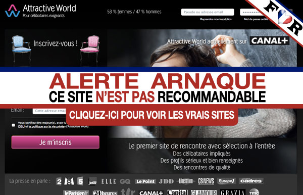 avis sur le site de rencontre attractive world