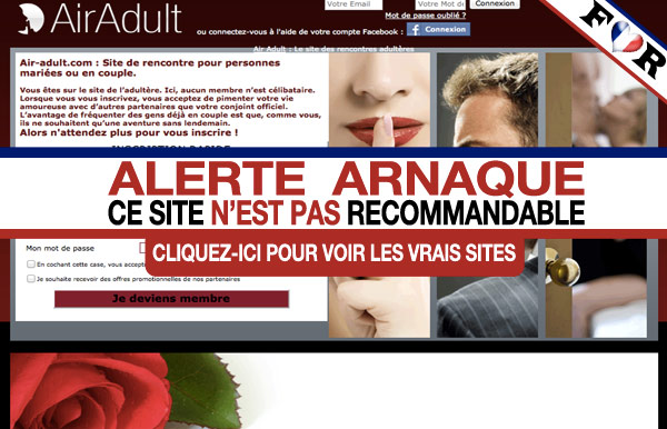 Test sur air adult